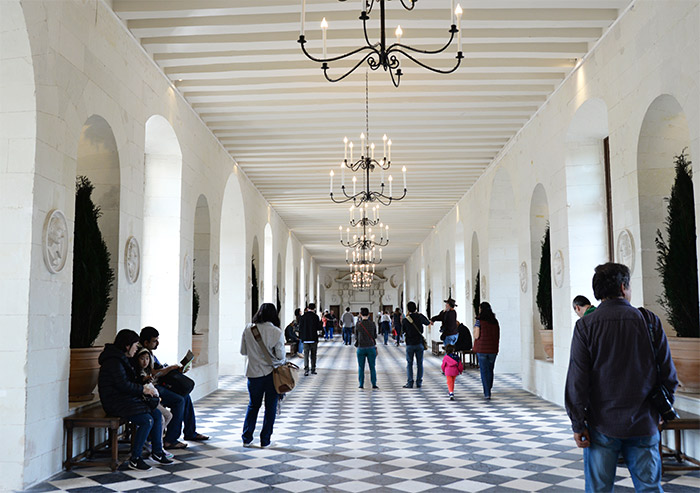 chateau chenonceau galerie