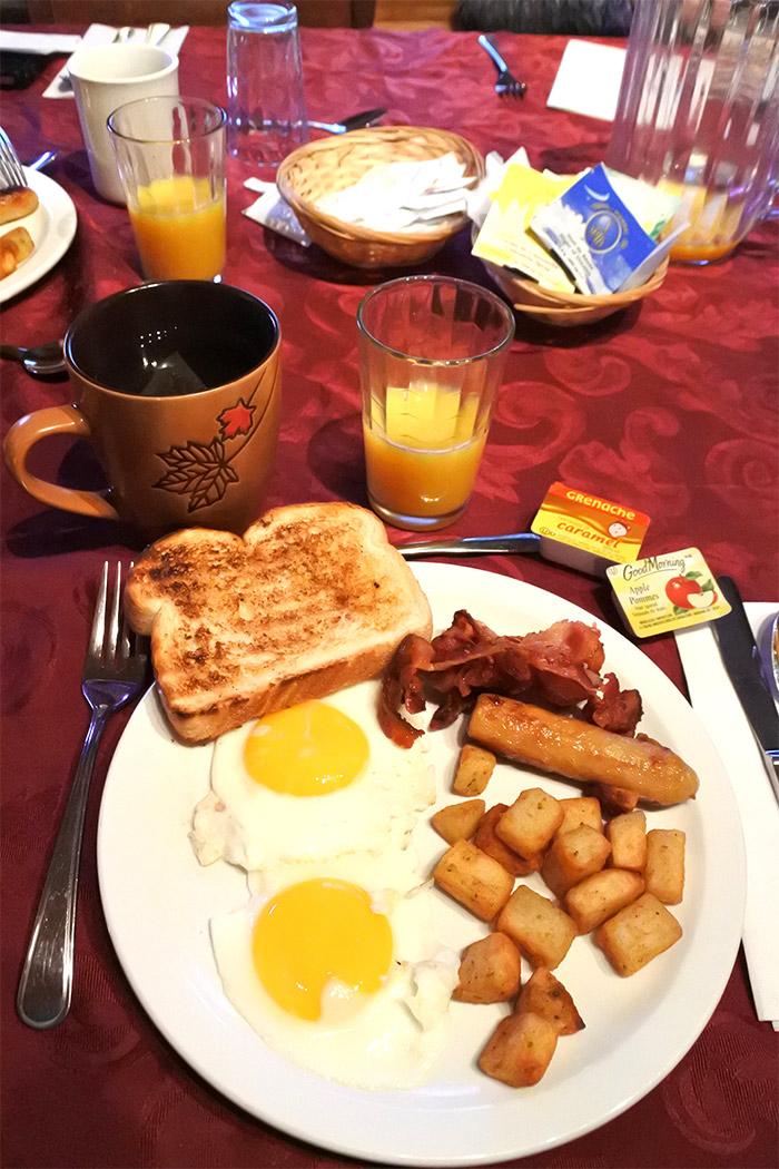 breakfast domaine valga quebec maritime