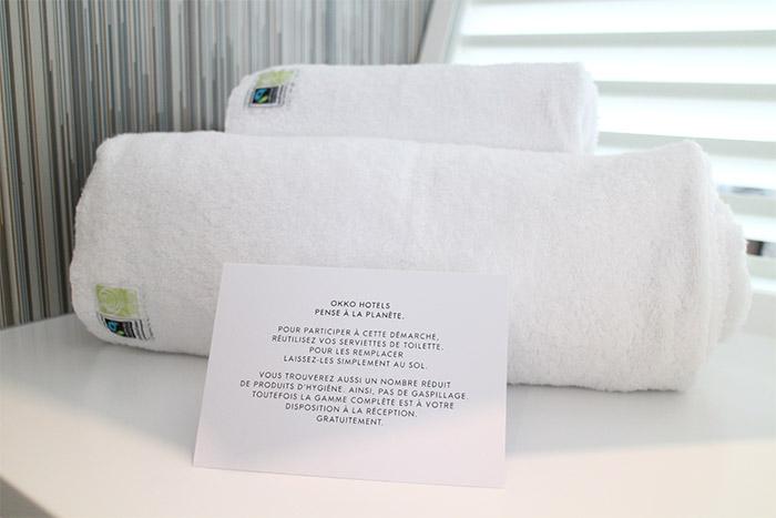 okko hotel cannes salle de bain