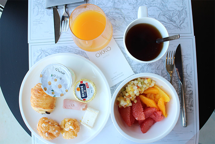 petit dejeuner okko hotel