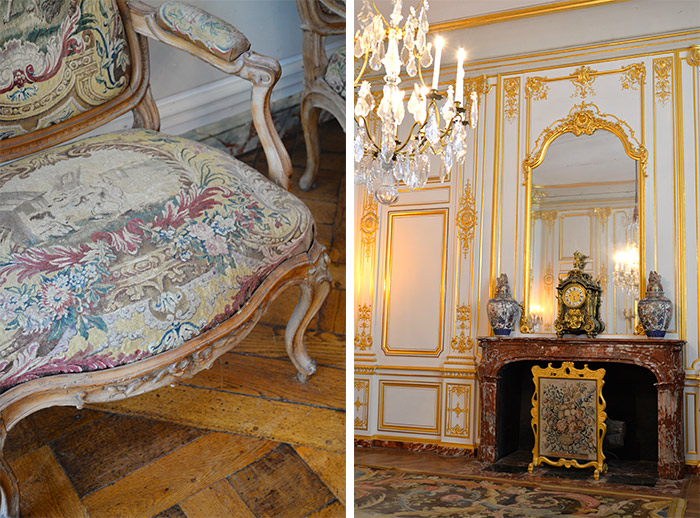 mobilier chambord chateau