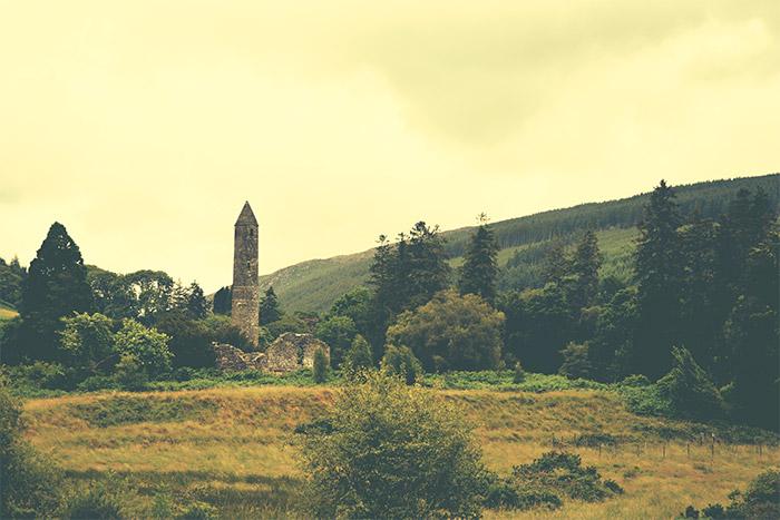 site monastique glendalough irlande
