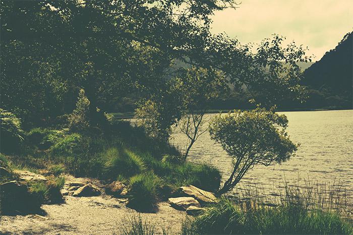 glendalough irlande lake