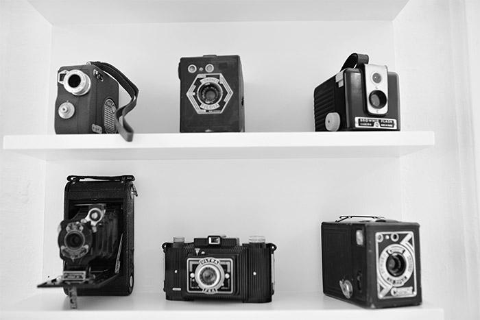 vintage camera away hostel