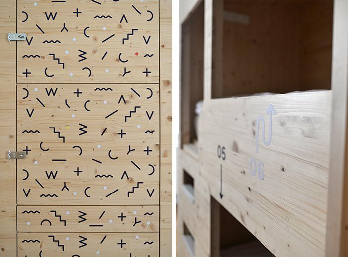 dortoir lits away hostel lyon