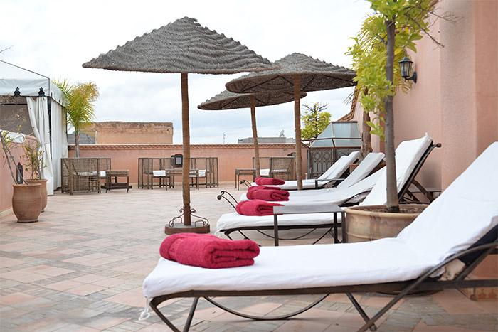 terrasse jardin abdou marrakech