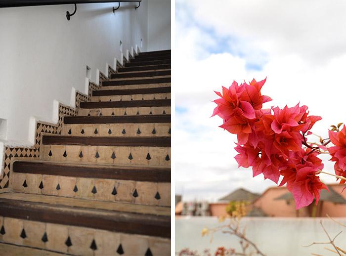 escaliers zellige maroc