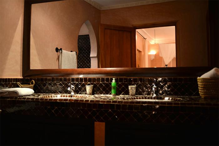 riad el walaa salle de bains