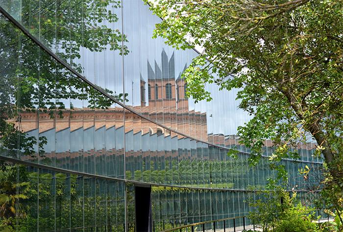 toulouse museum paroi verre