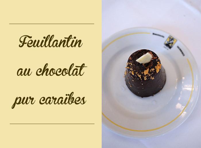 feuillantin chocolat brasserie georges