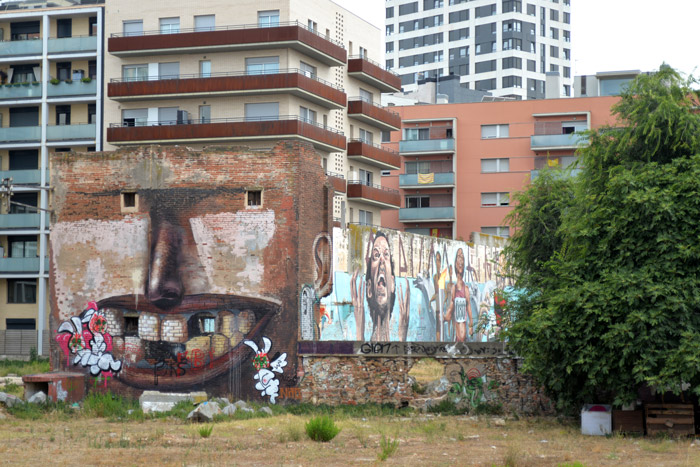 Penao street art poblenou barcelona