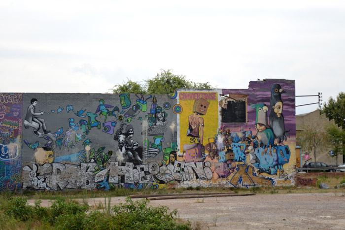 barcelone poblenou street art