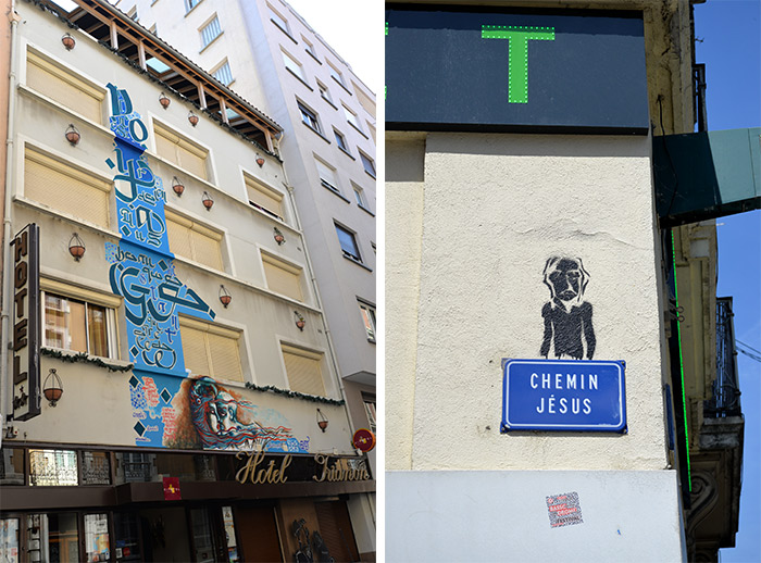 rue jesus grenoble street art