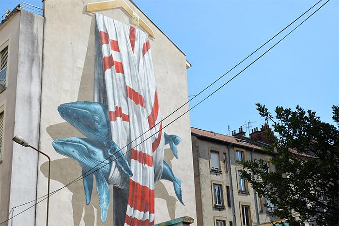 baleine grenoble street art