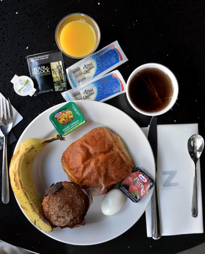 hotel zero one petit dejeuner montreal