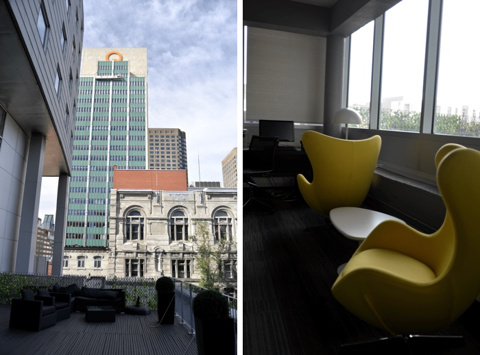 montreal terrasse hotel zero one