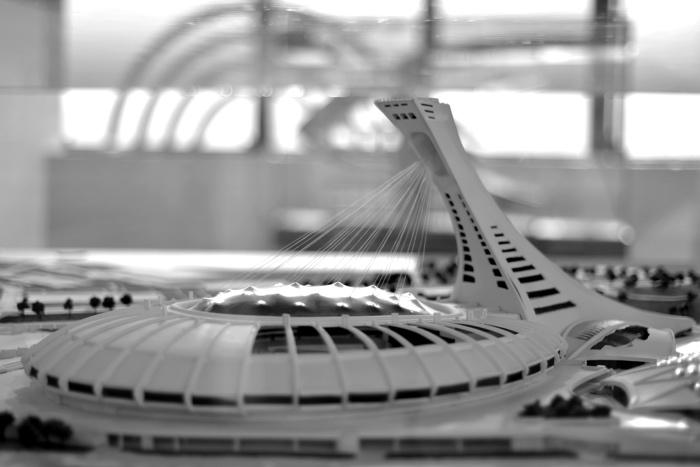 maquette stade parc olympique