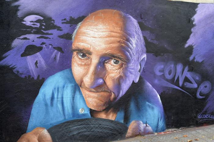 street art in poblenou barcelona