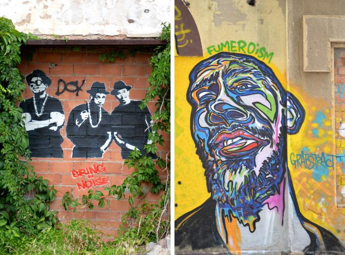 street art textil poblenou