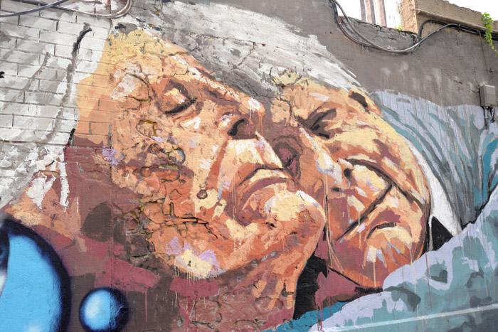 barcelone poblenou street art murals