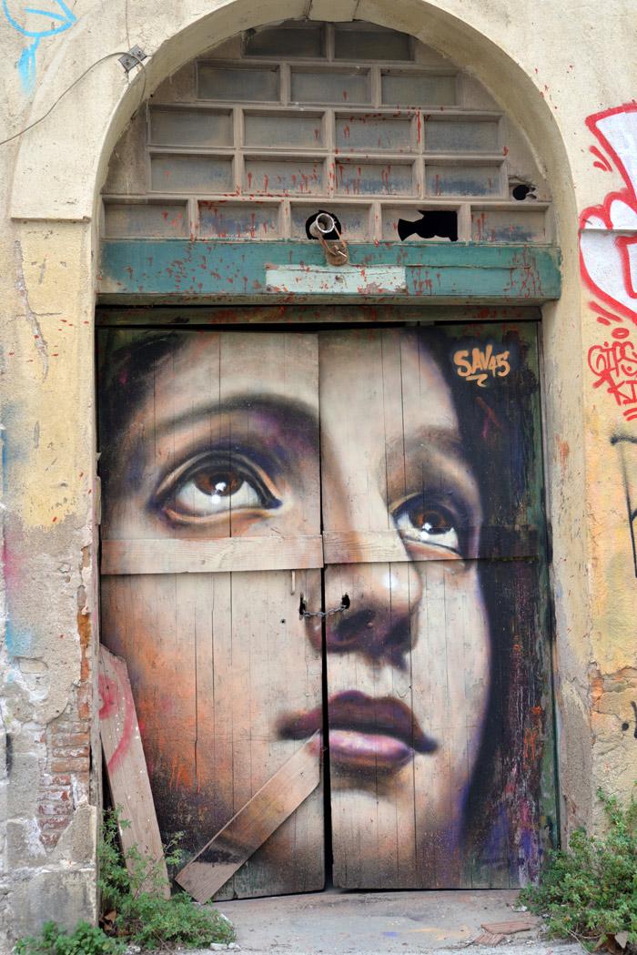 barcelone street art poblenou