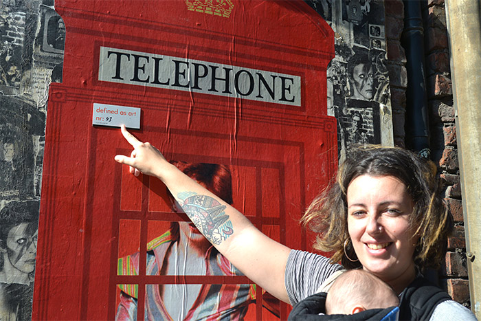 Hayley the skyliner street art tours manchester