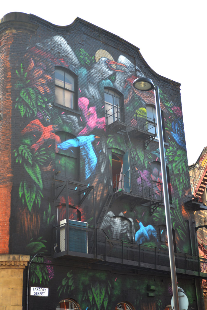 bailon street art manchester