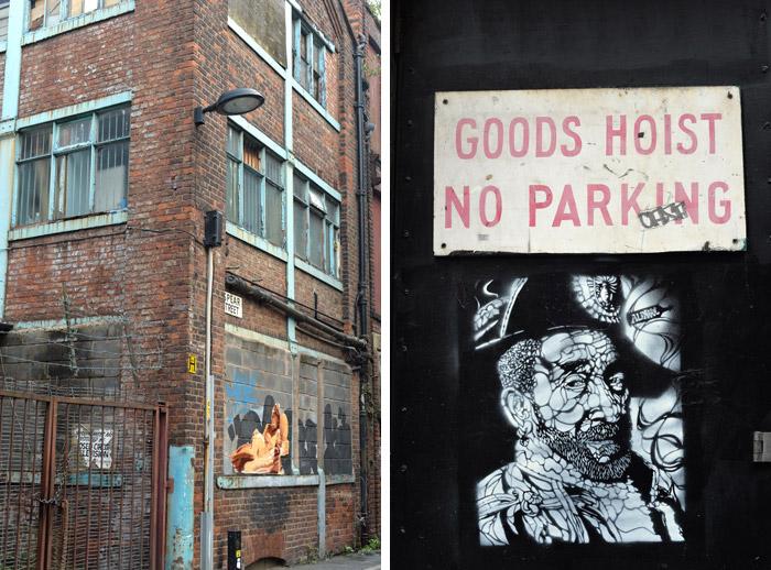C215 Manchester street art