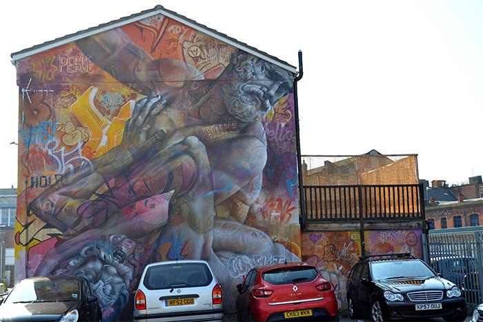 Pichiavo street art Manchester
