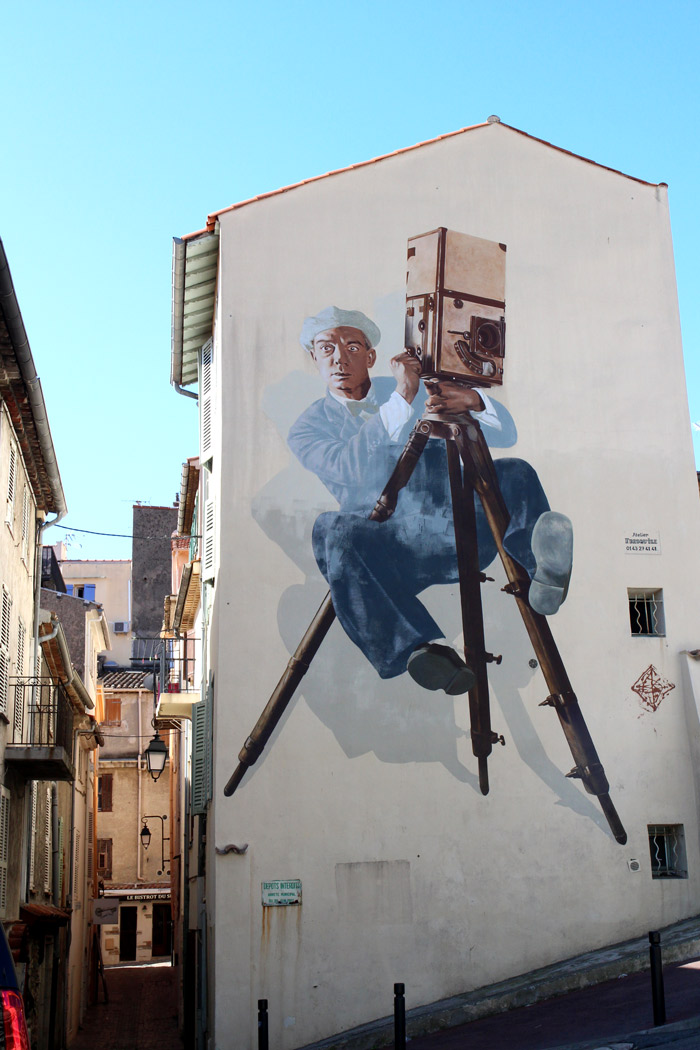 buster keaton murs peints cannes