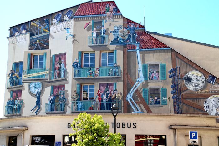 cannes murs peints