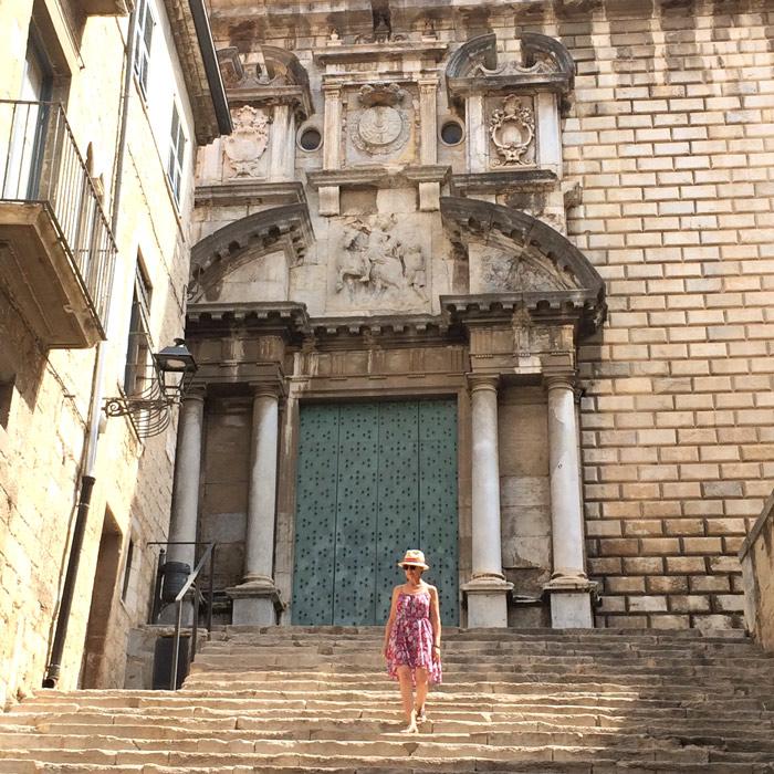 couvent sant marti escalier baroque gerone