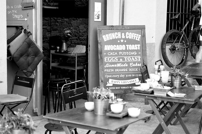 cafe la fabrica girona catalunya