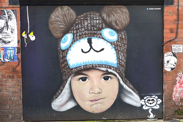 Akse street art Manchester