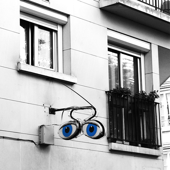 enseigne opticien butte cailles paris