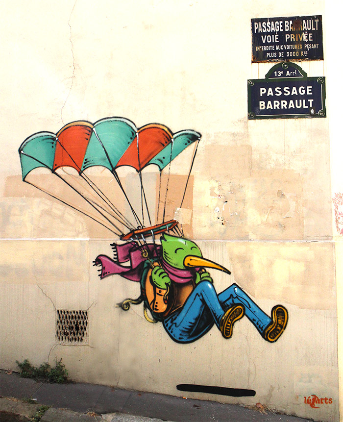 paris butte aux cailles street art