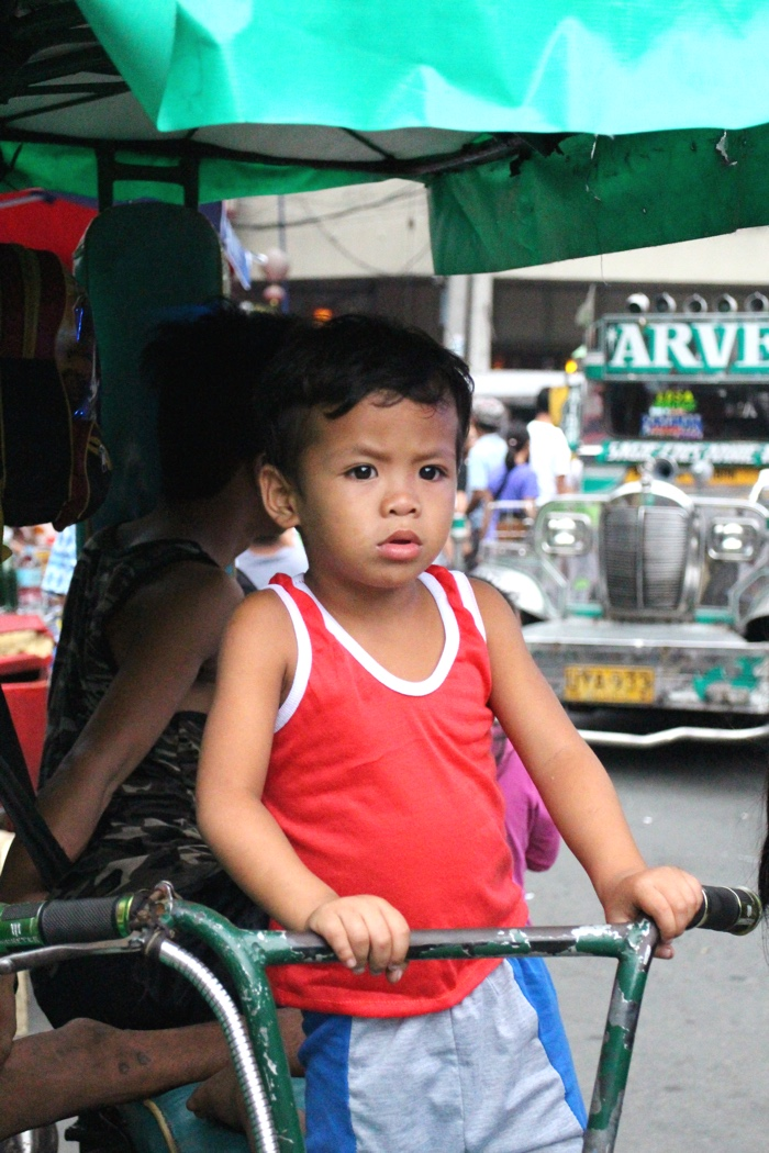 boy in Manila Philippines