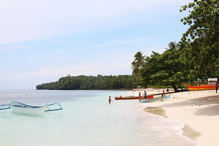 île philippines plage