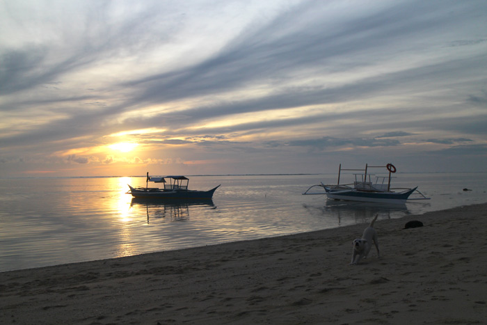 siargao beach sunrise