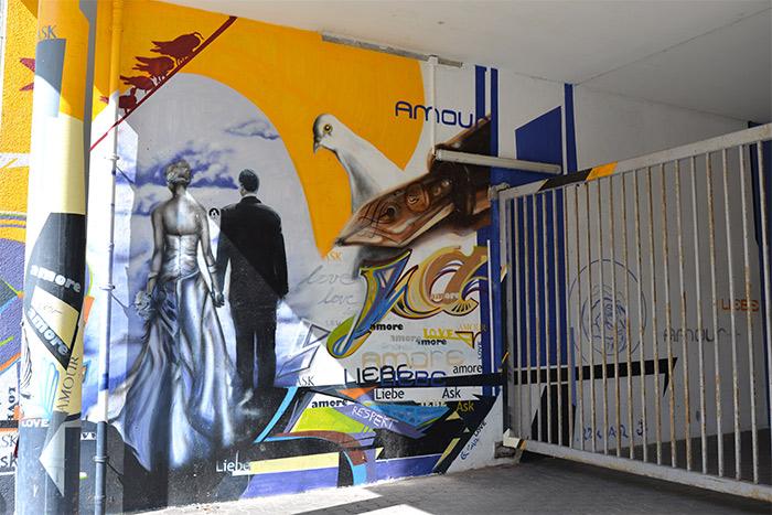 berlin street art liebe