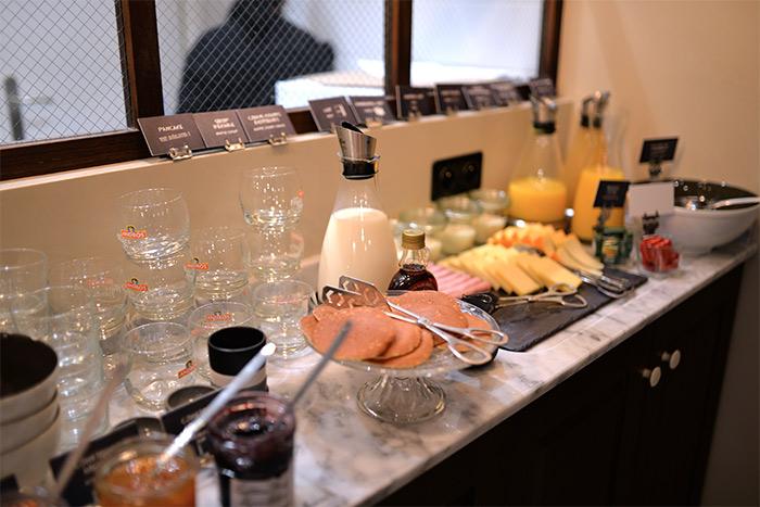 lyon silky hotel breakfast