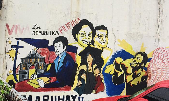 manille philippines graffiti
