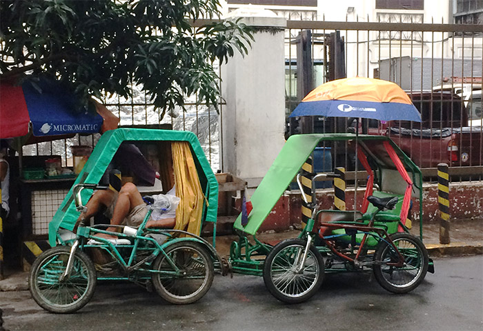 tricycle manille philippines