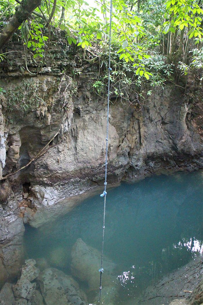 Tayangban cave pool Siargao
