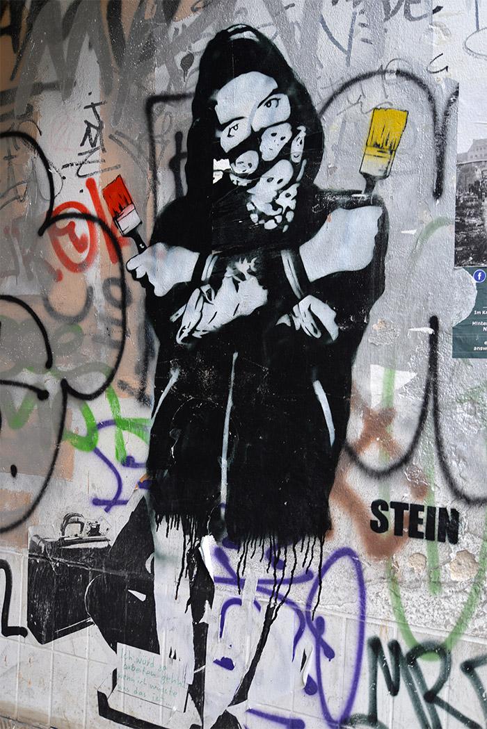 stein street artist berlin