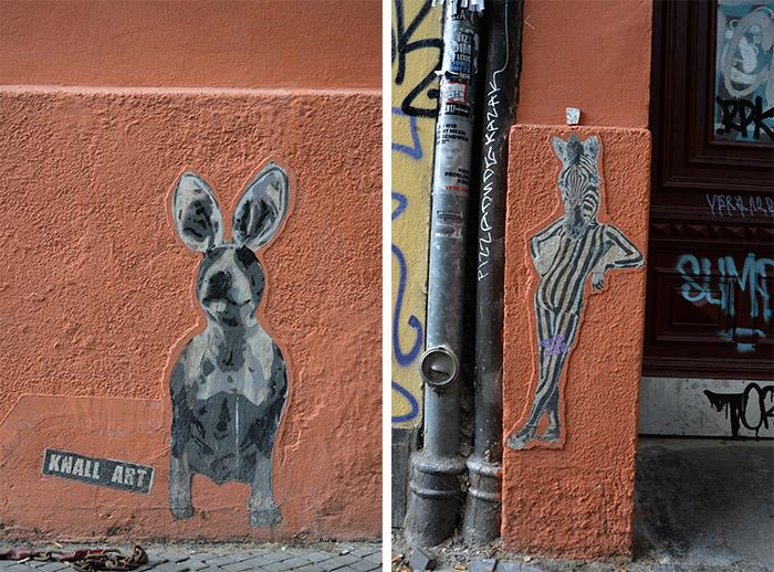 KNALL STREET ART BERLIN