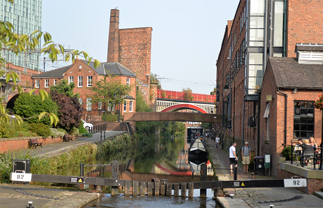 manchester castlefield canals