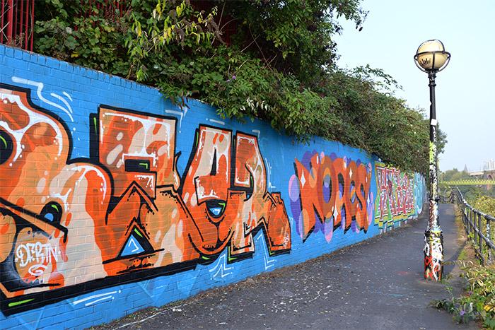 manchester irwell graffiti