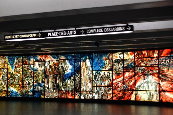 montreal place des arts metro