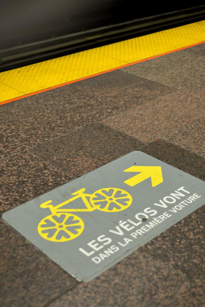 velo metro montreal